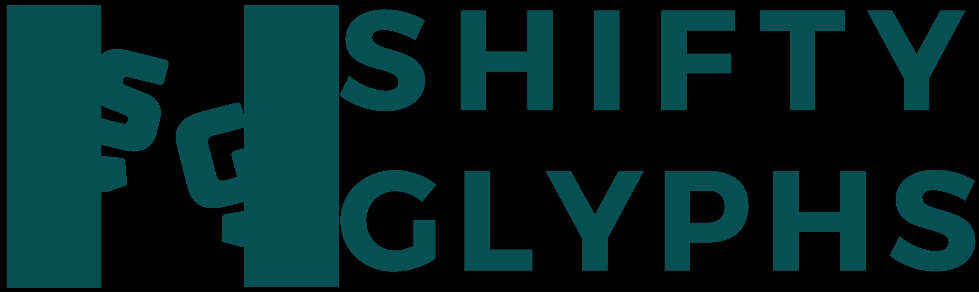 Shifty Glyphs